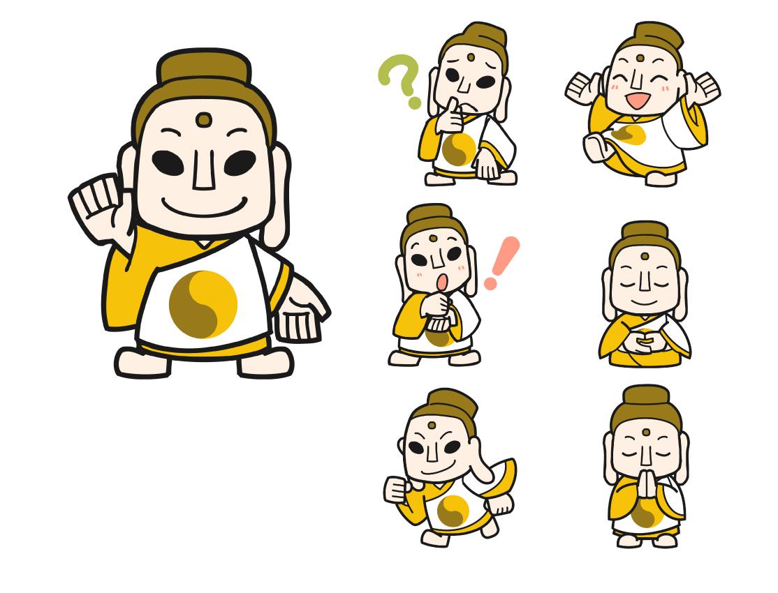 オンラインサービス イメージキャラクター制作(かすてら様)